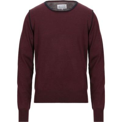 メゾン マルジェラ MAISON MARGIELA メンズ ニット・セーター トップス sweater Maroon