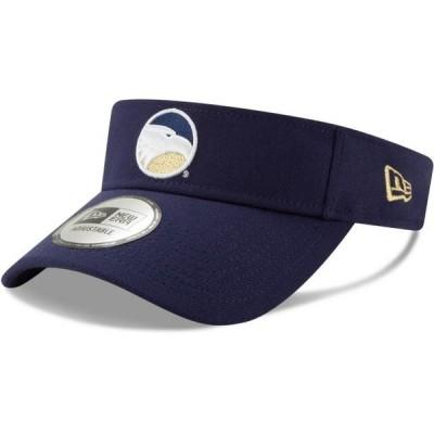 ユニセックス スポーツリーグ アメリカ大学スポーツ Georgia Southern Eagles New Era Flash Visor - Royal - OSFA 帽子
