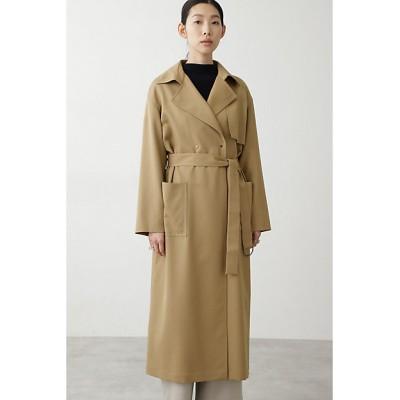 <HUMAN WOMAN(Women)/ヒューマンウーマン> ウールツイルコート ベージュ【三越伊勢丹/公式】