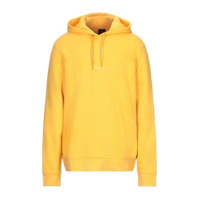ARMANI EXCHANGE スウェットシャツ イエロー XL コットン 85% / ポリエステル 15% スウェットシャツ
