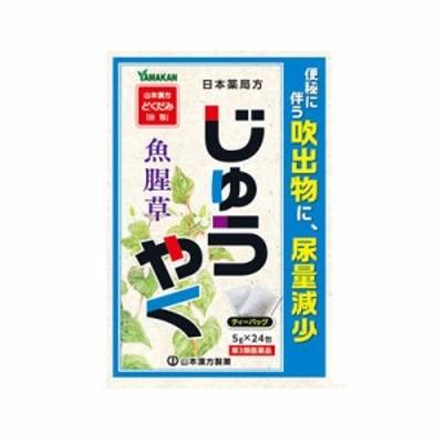 【第3類医薬品】 山本漢方 日本薬局方 ジュウヤク 24包 4979654027267