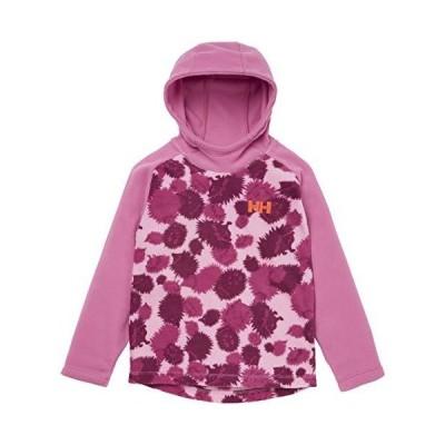 Helly Hansen Kids Little Daybreaker Fleece Hoodie, 097 Bubblegum Pink Aop,
