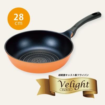 超軽量・強力ダイヤモンドコーティングのいため鍋〈28cm〉 フェリシモ FELISSIMO