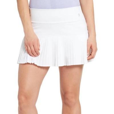 プリンス レディース スカート ボトムス Prince Women's Match Woven Pleated Tennis Skort