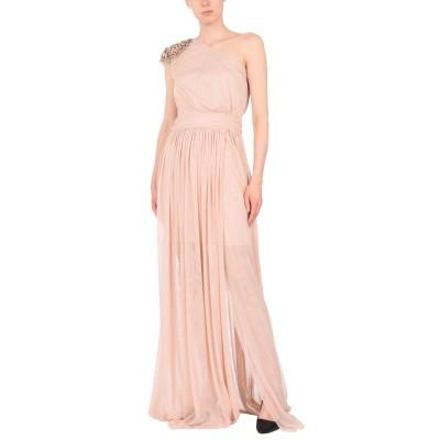 リュー ジョー LIU •JO ロングワンピース&ドレス ピンク 42 ポリエステル 100% ロングワンピース&ドレス