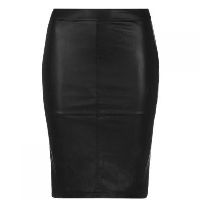 ヴィラ Vila レディース ひざ丈スカート スカート Vipen Midi Skirt Black