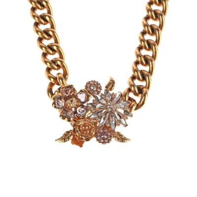 VERSACE ネックレス ゴールド 金属 ネックレス