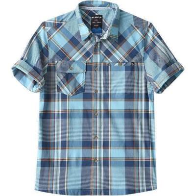 カブー シャツ メンズ トップス Boardwalk Short-Sleeve Shirt - Men's Beach Blues