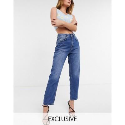 リクレイム ヴィンテージ Reclaimed Vintage レディース ジーンズ・デニム ボトムス・パンツ inspired the 91' mom jean in mid blue wash ブルー