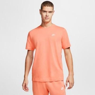 ナイキ メンズ Tシャツ Nike SportsWear Club T-Shirt 半袖 Orange Trance
