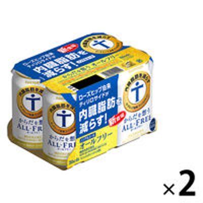 サントリーノンアルコールビール からだを想うオールフリー 350ml×12本 ノンアルコール サントリー