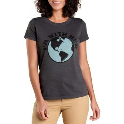 トードアンドコー Toad & Co レディース Tシャツ トップス primo daily t-shirt Soot
