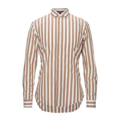 ブライアン デールズ BRIAN DALES シャツ キャメル 42 コットン 100% シャツ