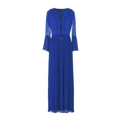 アトス ロンバルディーニ ATOS LOMBARDINI ロングワンピース&ドレス ブルー 42 ポリエステル 100% ロングワンピース&ドレス