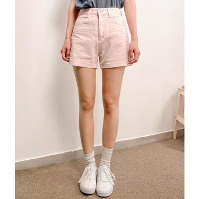 MIXXMIX レディース ショートパンツ Basic Pastel Shorts