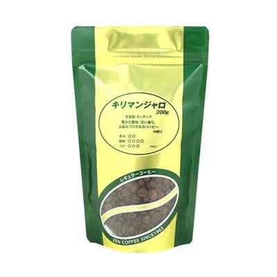 全珈琲 キリマンジャロ(豆) / 200g お茶・スナック 珈琲・お茶