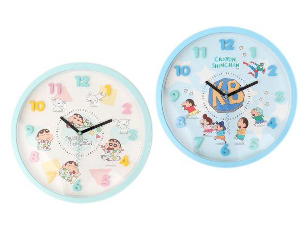 蠟筆小新~靜音時鐘(1只入) 睡衣/KB春日部防衛隊 款式可選【DS001410】