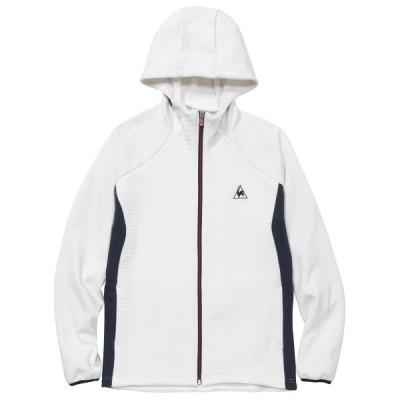 ルコック le coq sportif QMMOJF03 ハイブリッドジャケット マルチトレーニング ウェア(メンズ) ホワイト