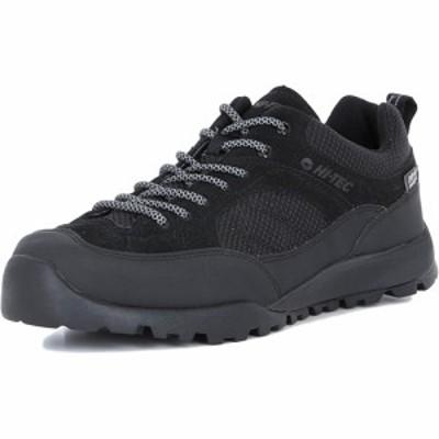 ハイテック(HI-TEC) メンズ アウトドアシューズ アオラギ HKU11 AORAKI ブラック 53143226 【スニーカー 透湿 防水 靴】