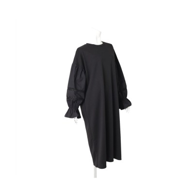 MARTHA(マーサ)Tブラウスバルーンスリーブワンピース (ワンピース)Dress