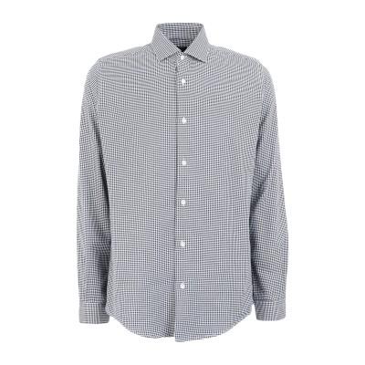 LIU •JO MAN シャツ ダークブルー 39 コットン 100% シャツ