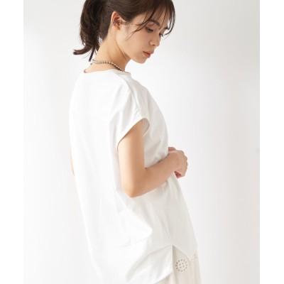 【手洗い可】エッグシルエットカットソー