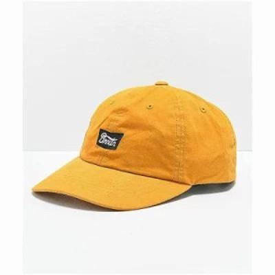 ブリクストン キャップ Stith Mustard Strapback Hat Yellow