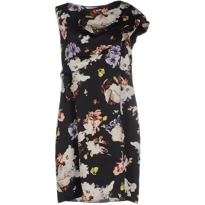 アーデム ERDEM ミニワンピース&ドレス ブラック 10 シルク 100% ミニワンピース&ドレス