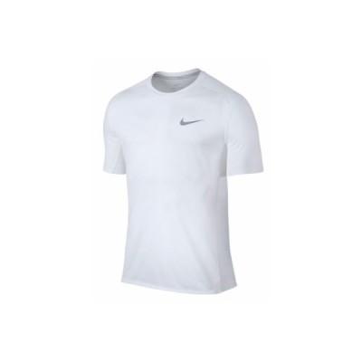 (ナイキ)NIKE マイラーS/Sトップ ウエルネス ランニングシャツ833592−100WHT