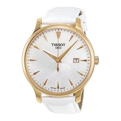 ティソ Tissot 腕時計 メンズ 時計 Tissot Tradition Leather Ladies Watch T0636103611601