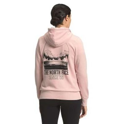ノースフェイス レディース パーカー・スウェット アウター The North Face Women's Mountain Peace Full Zip Hoodie Pearl Blush
