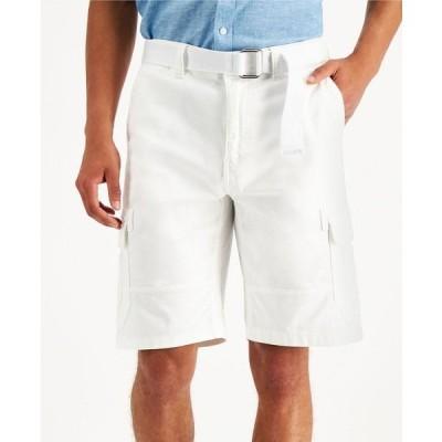 サンアンドプラスストーン カジュアルパンツ ボトムス メンズ Men's Franklin Cargo Shorts, Created for Macy's Bright White