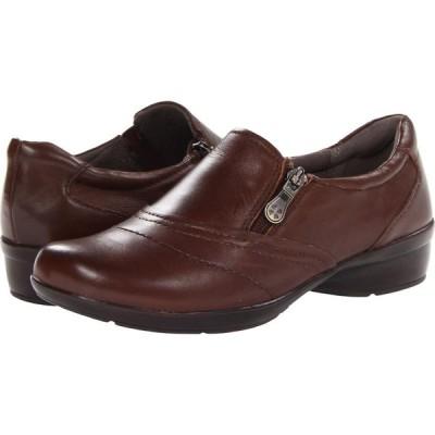 ナチュラライザー Naturalizer レディース スリッポン・フラット シューズ・靴 Clarissa Coffee Bean Leather