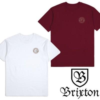 【BRIXTON】ブリクストン RIVAL II S/S STANDARD TEE Tシャツ トップス SKATE スケート ストリート ロゴ 半袖 シンプル スタンダードフィット