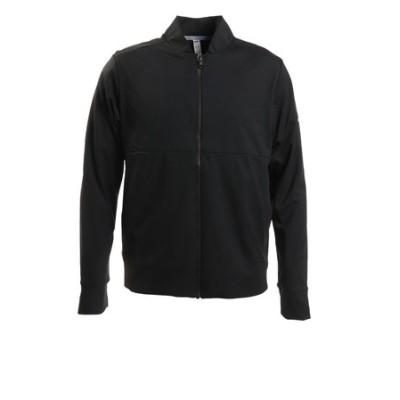 アディダス(adidas)ダブルレイヤー ストレッチ長袖ジャケット INS87-FS6974BK