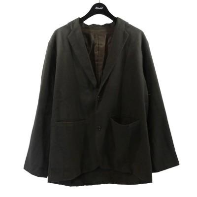 MORRIS&SONS 2019AW オーガニックコットンシングルジャケット カーキ サイズ:2 (南船場店) 201221