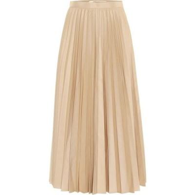 ジュンヤ ワタナベ Junya Watanabe レディース スカート high-rise cotton-blend skirt Beige