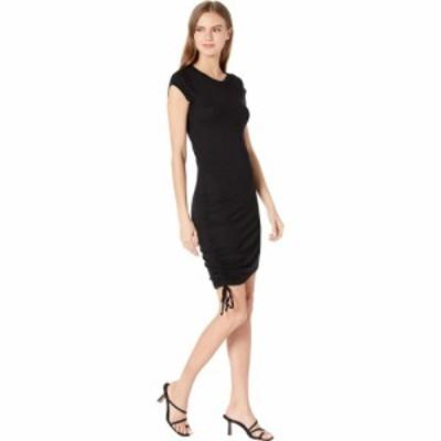 ラメイド LAmade レディース ワンピース ワンピース・ドレス Indie Cinched Cap Sleeve 2X1 Modal Stretch Rib Dress Black