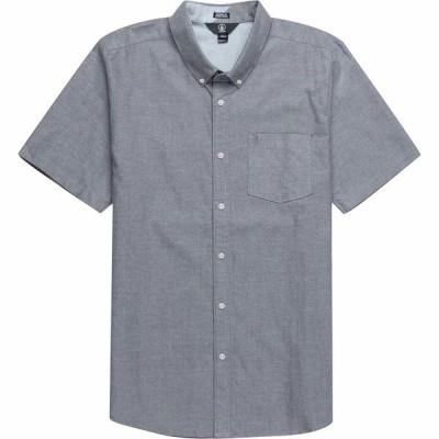 ボルコム シャツ メンズ トップス Everett Oxford Short-Sleeve Shirt - Men's Black