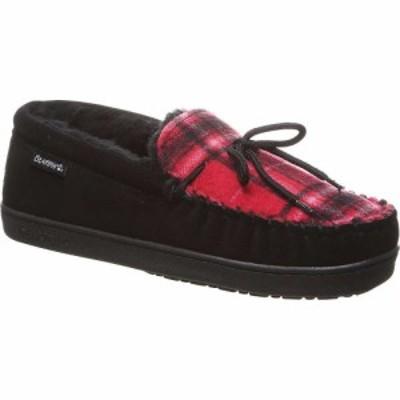 ベアパウ Bearpaw メンズ スリッパ シューズ・靴 Moc II Shoe Black Multi Knit