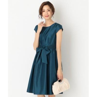 【エニィスィス】 ブライトシャンタン ドレス レディース ピーコックグリーン系 2 any SiS