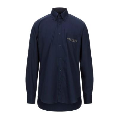 ポール・アンド・シャーク PAUL & SHARK シャツ ダークブルー 41 コットン 100% シャツ