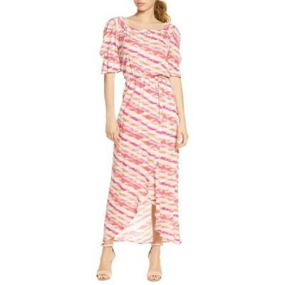 フライシュ レディース ワンピース トップス Moga Printed Maxi Dress MOGA