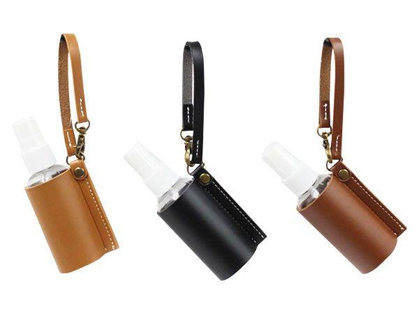萬用便攜式噴霧瓶皮套(含噴瓶60ml)1入 顏色隨機出貨【DS002213】分裝空瓶