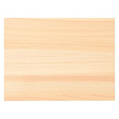 無印良品 ひのき調理板・薄型・小 約幅24×奥行18×厚さ1.3cm 15254385 良品計画