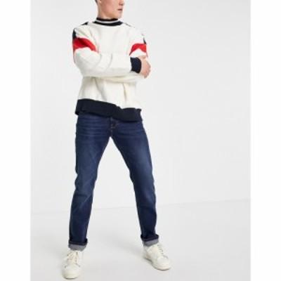 トミー ヒルフィガー Tommy Hilfiger メンズ ジーンズ・デニム ボトムス・パンツ straight denton jeans ブルー