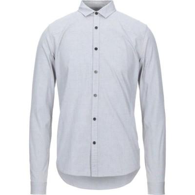 カルバンクライン CALVIN KLEIN JEANS メンズ シャツ トップス Solid Color Shirt Light grey