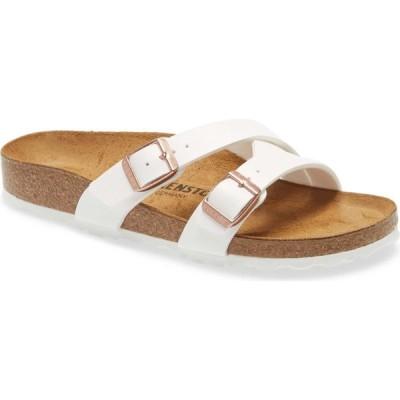 ビルケンシュトック BIRKENSTOCK レディース サンダル・ミュール スライドサンダル シューズ・靴 Yao Slide Sandal New White
