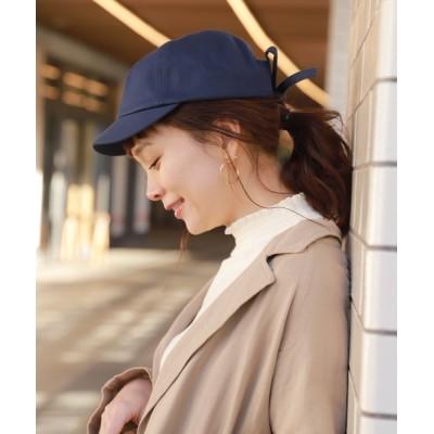 studio CLIP / タイトリボンキャップ WOMEN 帽子 > キャップ