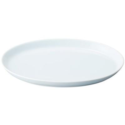 中華食器 楕円皿 / 青白天 11.5吋プラター 寸法:29.8 x 19.2 x 3.1cm